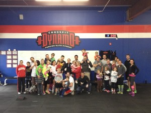 Great Saturday at the box!  Team WoD, CrossFit Kids, AND a Powerlifting Meet!