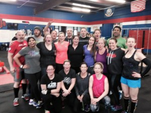 Everyone is this pic PR'd their C&J in Open WoD 15.1A! #Legit